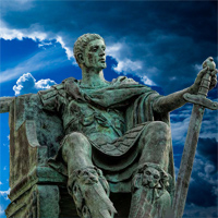 Emperor Constantine the Great Roman Leader and Philosopher