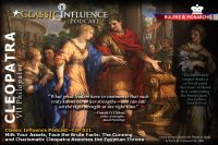 Classic Influence Podcast (CIP 021). Milk Your Assets, Face the Brute Facts: The Cunning and Charismatic Cleopatra Assumes the Egyptian Throne