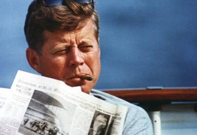 President John F. Kennedy Leadership and Learning are Indispensable to Each Other